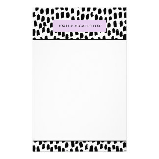 Modern Dots | Personalised Stationery