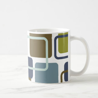 Modern Eames Rectangles 1 Coffee Mug