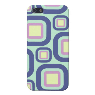Modern Eames Rectangles 21 Cover For iPhone 5