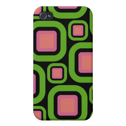 Modern Eames Rectangles 22 iPhone 4 Covers