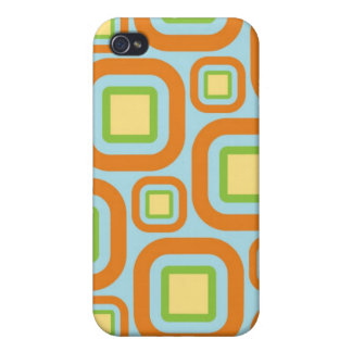 Modern Eames Rectangles 24 Cover For iPhone 4