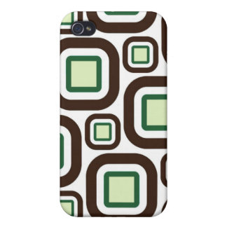 Modern Eames Rectangles 26 Cover For iPhone 4