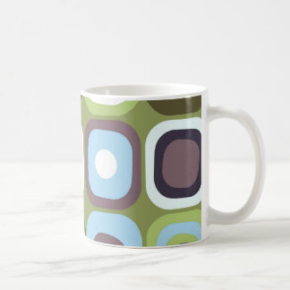Modern Eames Rectangles 32 Coffee Mug