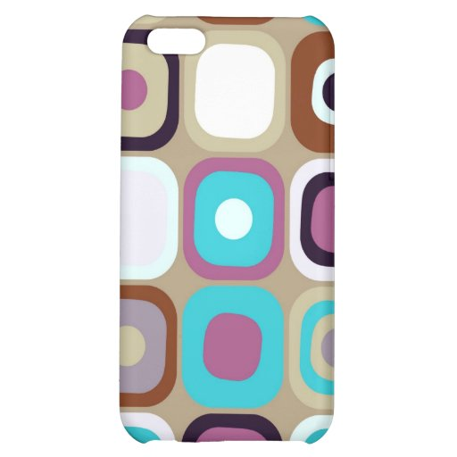 Modern Eames Rectangles 33 Cover For iPhone 5C