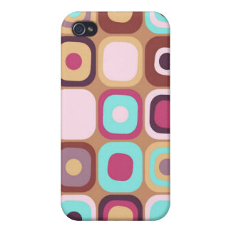 Modern Eames Rectangles 34 Covers For iPhone 4