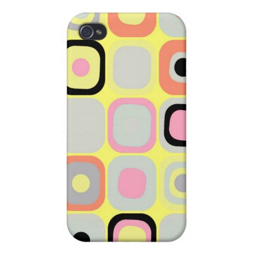 Modern Eames Rectangles 37 iPhone 4/4S Cover
