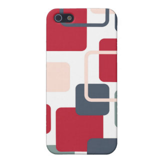 Modern Eames Rectangles 4 iPhone 5 Case
