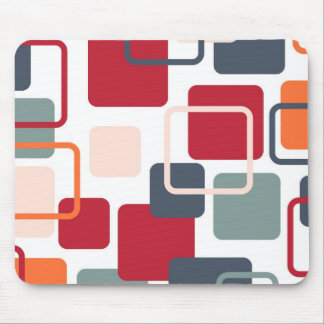 Modern Eames Rectangles 4 Mouse Mat