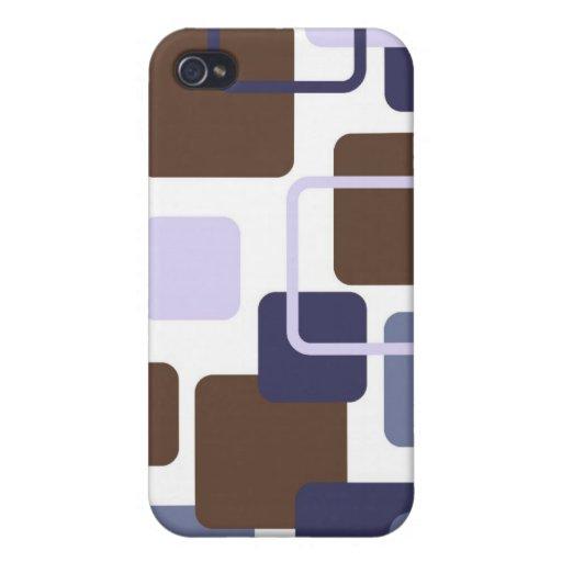 Modern Eames Rectangles 5 iPhone 4 Case