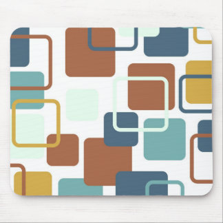 Modern Eames Rectangles 6 Mouse Mat