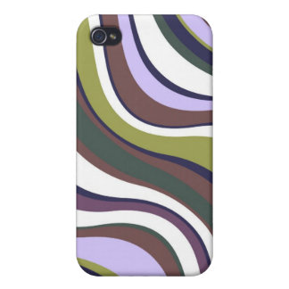 Modern Eames Waves 1 iPhone 4 Cover