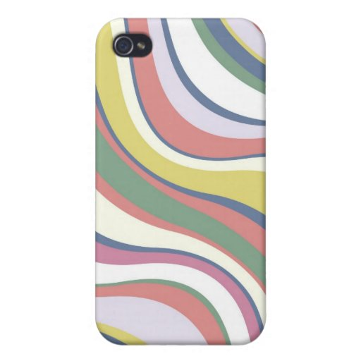 Modern Eames Waves 3 iPhone 4/4S Cover