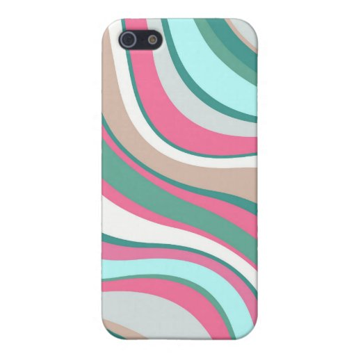Modern Eames Waves 4 iPhone 5 Cases