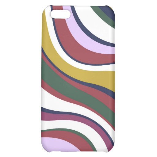 Modern Eames Waves 5 Case For iPhone 5C