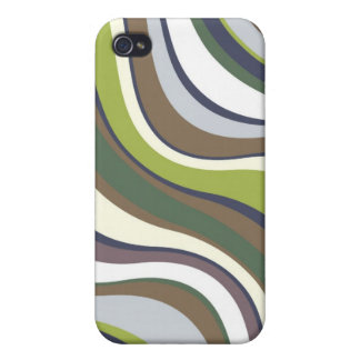 Modern Eames Waves 6 Cases For iPhone 4
