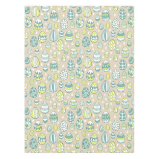 Modern Easter Egg Drawing Pattern Tablecloth