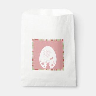 Modern Easter Egg Pink - Favor Bag Favour Bags