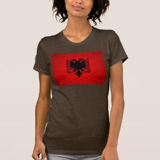 Modern Edgy Albanian Flag Tshirt