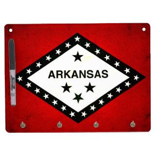 Modern Edgy Arkansan Flag Dry-Erase Whiteboards
