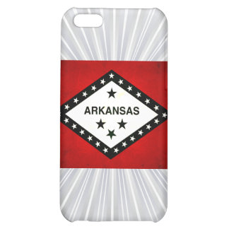 Modern Edgy Arkansan Flag Cover For iPhone 5C