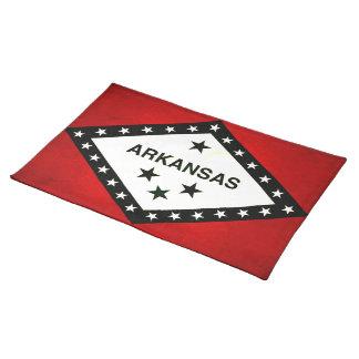 Modern Edgy Arkansan Flag Place Mat