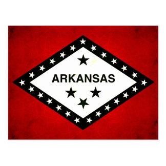 Modern Edgy Arkansan Flag Post Cards