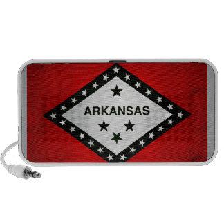 Modern Edgy Arkansan Flag Travel Speakers