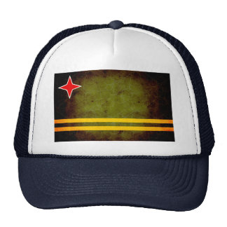 Modern Edgy Aruban Flag Hats