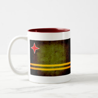 Modern Edgy Aruban Flag Mugs