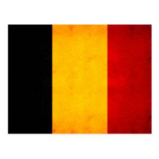 Modern Edgy Chadian Flag Postcard