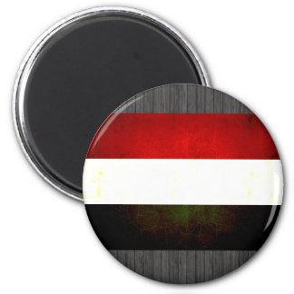 Modern Edgy Dutch Flag Refrigerator Magnet