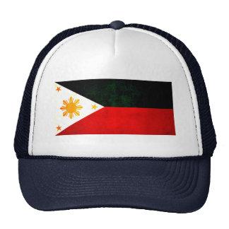 Modern Edgy Filipino Flag Mesh Hat