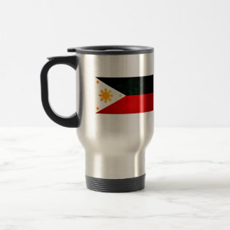 Modern Edgy Filipino Flag Coffee Mugs