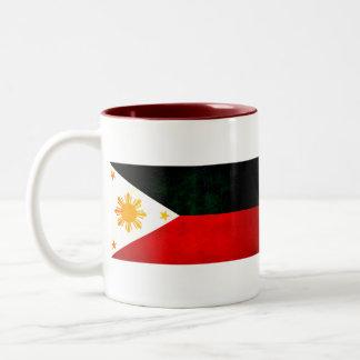 Modern Edgy Filipino Flag Coffee Mug
