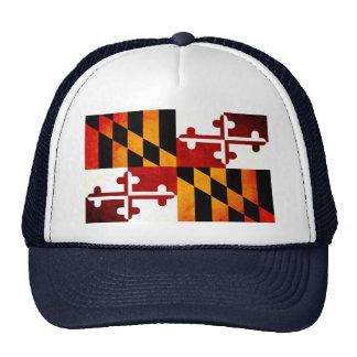 Modern Edgy Marylander Flag Mesh Hats