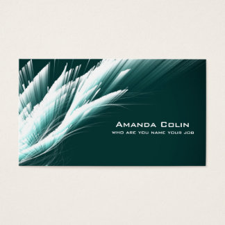 Modern Elegant Abstract Sleek Business Business Card