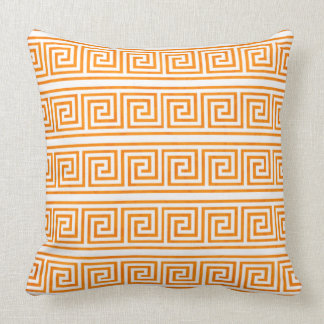 Modern Elegant and Classic Greek Key Pattern Cushion