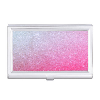 Modern Elegant Chic Glittery Business Card Cases