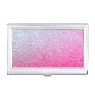 Modern Elegant Chic Glittery Business Card Holder