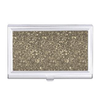 Modern Elegant Chic Glittery Business Card Holders