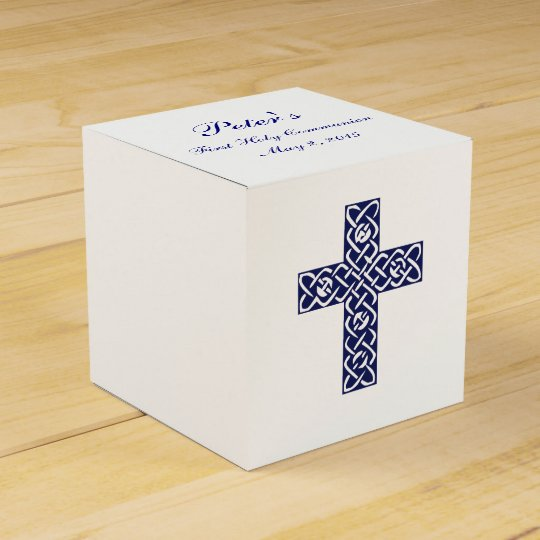 Modern Elegant Cross First Holy Communion Favour Favour