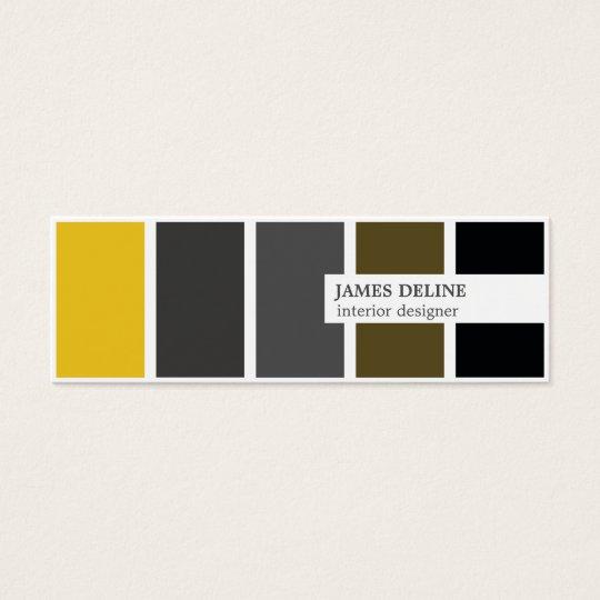 Modern Elegant Gold Grey Black Interior Designer Mini