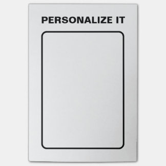 Modern Elegant Personalized Versatile Post-it® Notes