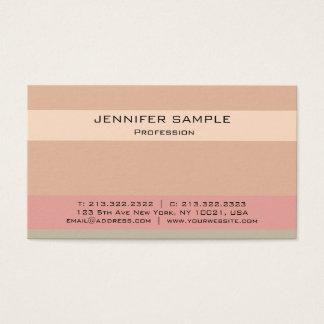 Modern Elegant Professional Color Combination Business Card