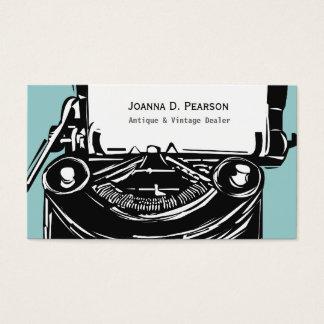 Modern Elegant Retro Writer Vintage Typewriter