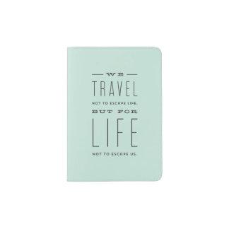Modern Escape Passport Cover