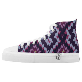 Modern Ethnic Blue Dominant Vita1 Sneakers Shoes