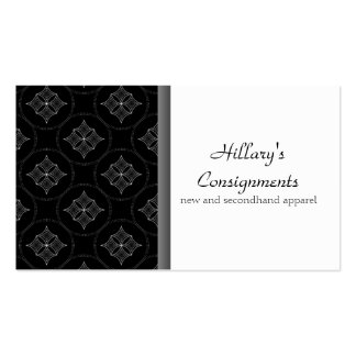 Modern Extravagance Business Card, Gray Pack Of Standard Business Cards