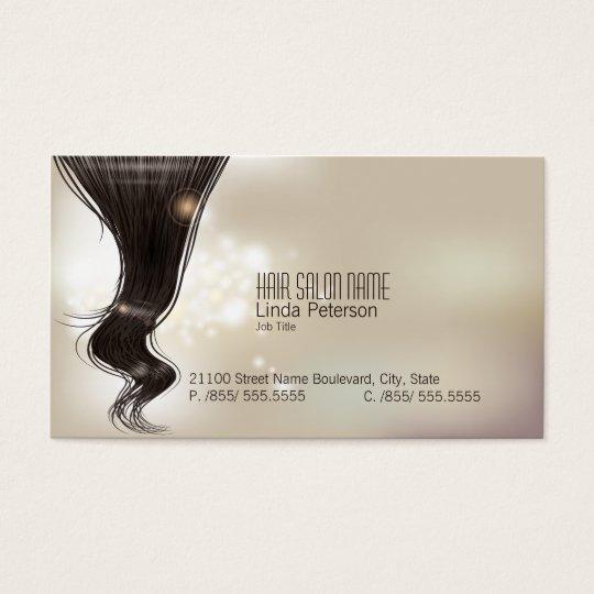 Modern Fashion  Hair Dresser Business Card
