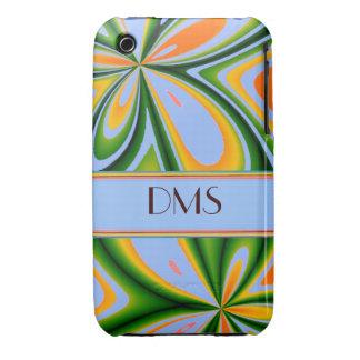 Modern Fashion Unique Pattern Floral Case iPhone 3 Case-Mate Cases